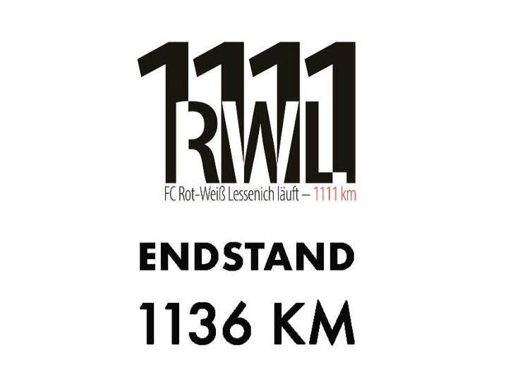Spendenlauf der RWL-Damenmannschaft geschafft!