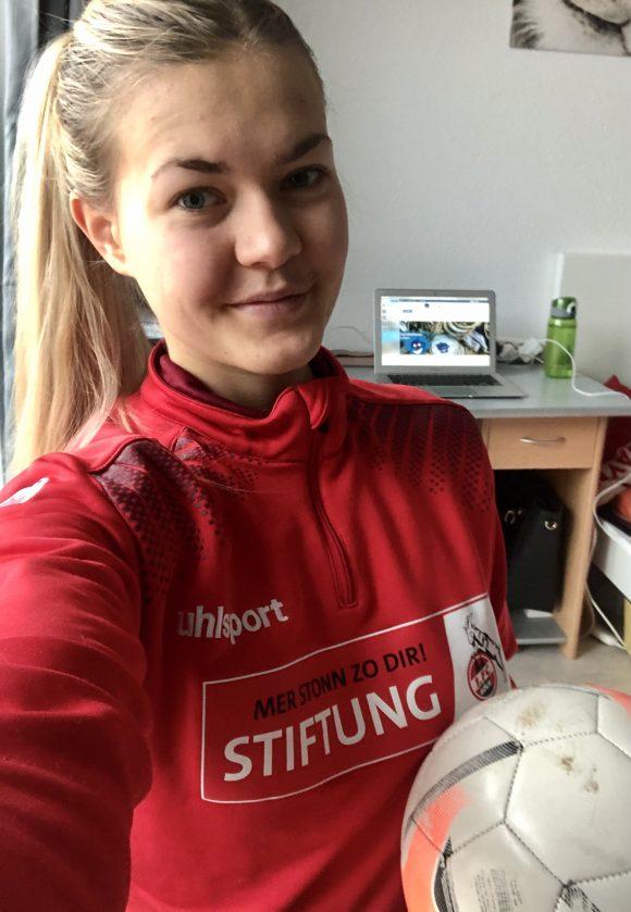 Online-Training mit unserer Trainerin aus Nippes!