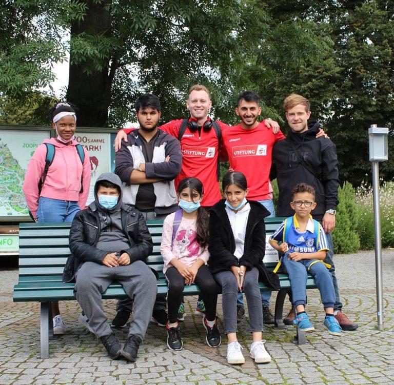 Das Team aus Köln-Vingst im Kölner Zoo